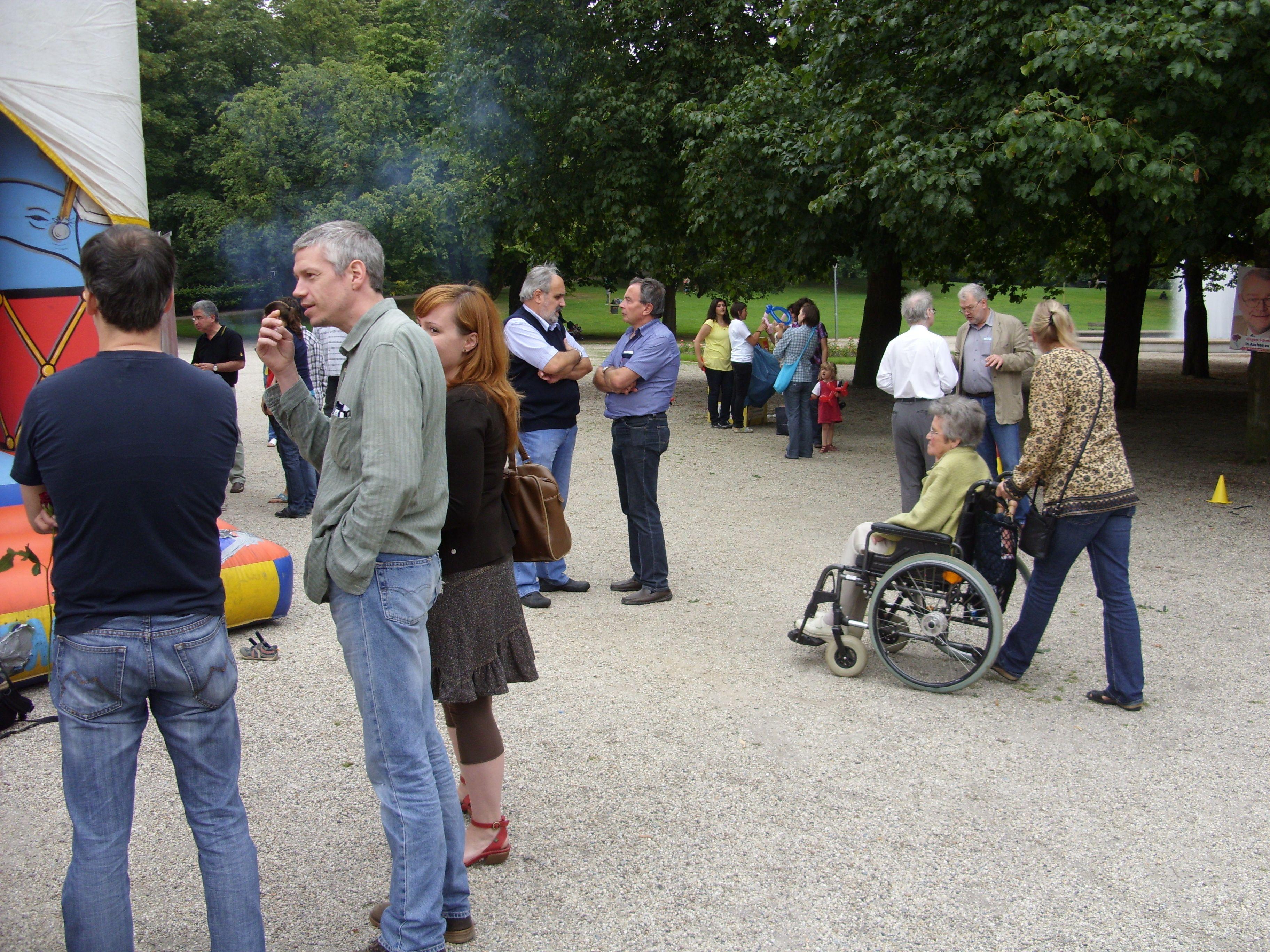 Familienfest im Stadtpark sehr gut besucht